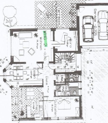 4,5-Zimmer-Wohnung mit Terrasse und Wintergarten in Frielingsdorf/Scheel auf Südhanglage.
