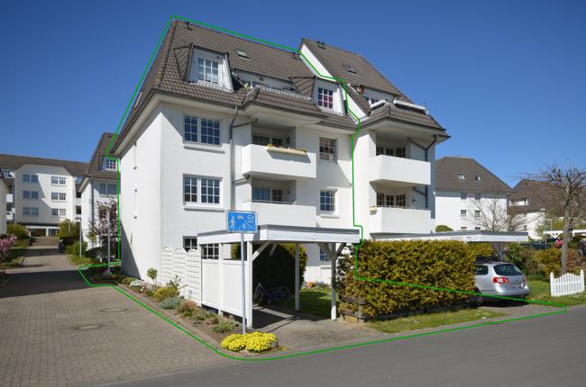 Attraktives Mehrfamilienhaus (4 WE) in ruhiger Lage - Südausrichtung mit Blick in den Park