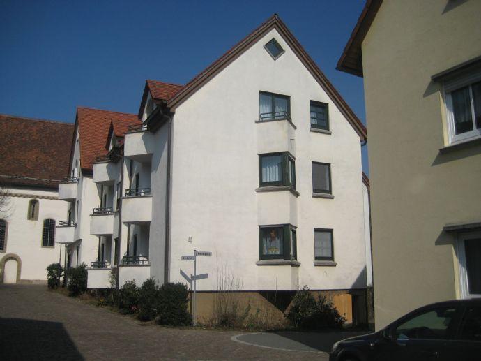 1-Zimmer-Wohnung in der Seniorenwohnanlage Niederstetten