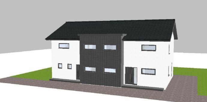 Neubau Doppelhaushälfte in Gütersloh-Isselhorst - Wir bauen Ihr individuell geplantes Massivhaus