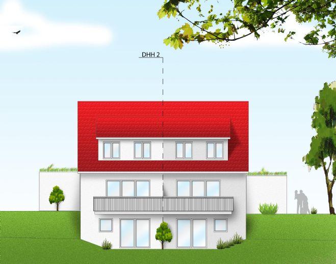 Attraktive DHH 2 - Bestlage/Fernblick - 4 1/2-Zimmer - perfektes, werthaltiges Wohnen - Solar-Strom vom Dach