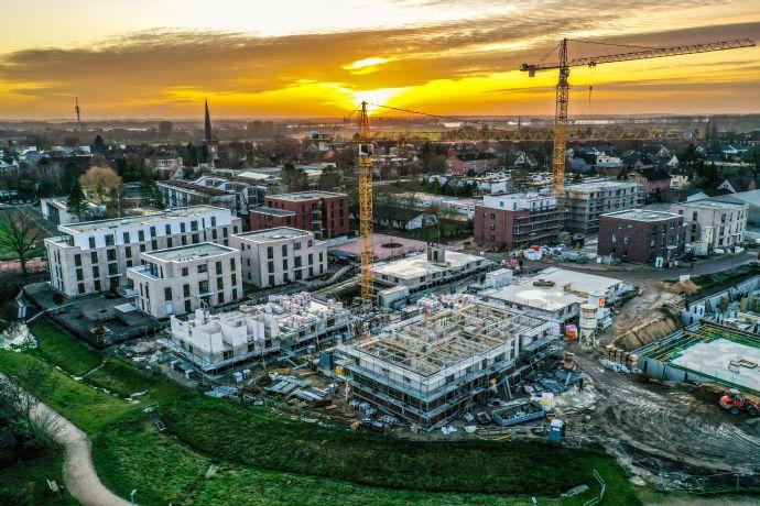 Finale: NEUBAU der letzten 22 Eigentumswohnungen mit Aufzug und Tiefgarage im Altstadtquartier Wedel