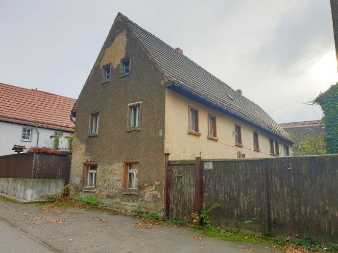 Wohngrundstück mit ruinösem Gebäudebestand