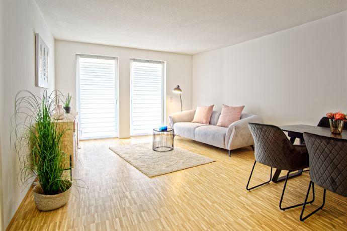 Wohnen in Mannheim-Käfertal - Moderne und lichtdurchflutete Neubauwohnungen