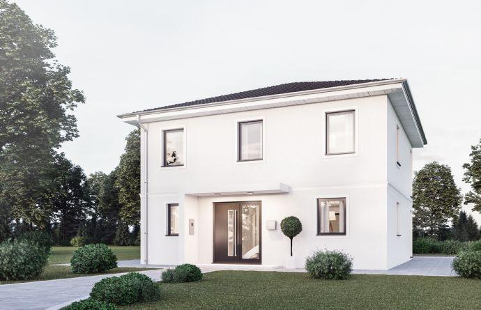 Bauen Sie hier Ihre moderne Stadtvilla ca. 125 m² in Hutzfeld!