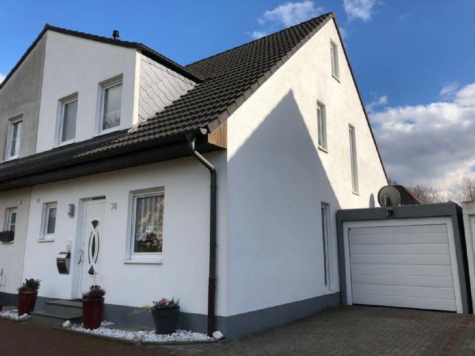 Provisionsfrei - Doppelhaushälfte in Gelsenkirchen-Resse mit rd. 120qm Wfl.
