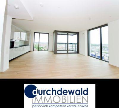 Moderne 3-Zi.-Neubau-Wohnung mit Panoramablick im höchsten Wohnhaus Stuttgarts