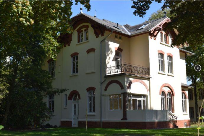 Zwei Zimmer Wohnung mit Balkon in einer restaurierten Stadtvilla
