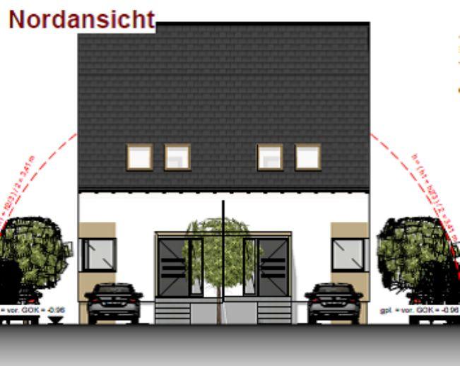Bauträgergrundstück mit Baugenehmigung für 4 DHH!