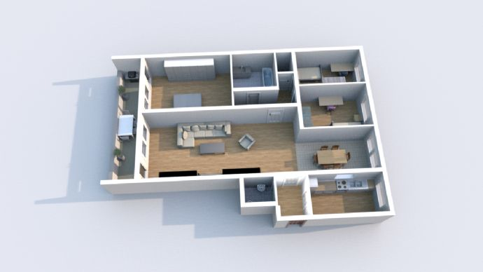 Wohnung zur Miete in Trierer Innenstadt