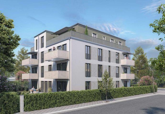 5 Zimmerwohnung Blick in die Innenstadt Aufzug II.OG Balkon Garage Keller Fahrradraum uvm.