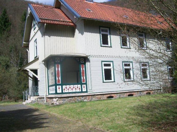 Altes Forsthaus mit großem Grundstück in Zorge