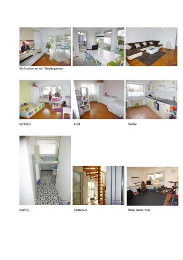 Ideal gelegene großzügige und ruhige Maisonette-EG-Wohnung mit Souterrain mit eigenem Garten  in r