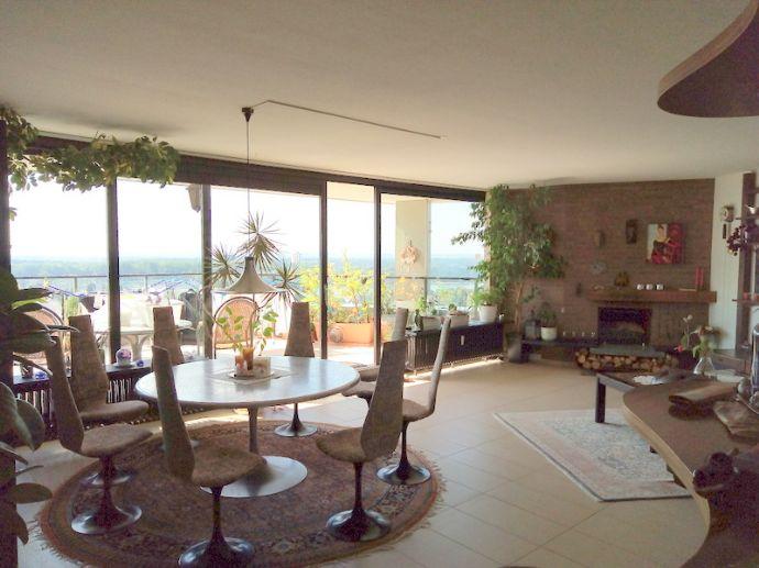Exklusives Wohnen - 3-Zimmer-Penthouse-Wohnung mit einzigartigem Ausblick