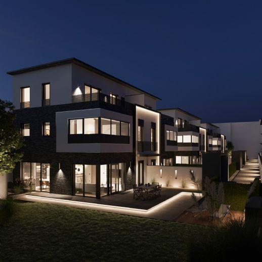 Sechs exklusive Stadthäuser in ruhiger Innenhof-Situation