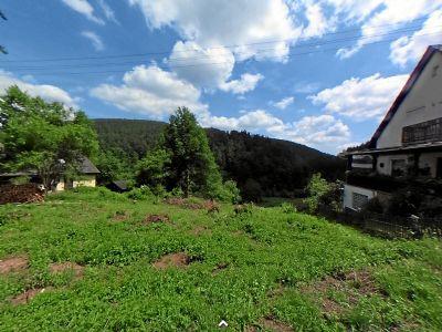 Herrliches Baugrundstück mit Talblick in ruhiger Wohnlage von Elmstein, ca. 1.458 m2 (teilbar)