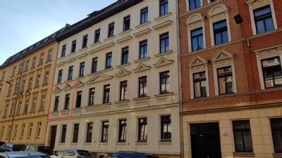 Vermietete Kapitalanlage mit Balkon in Leipzig Leutzsch