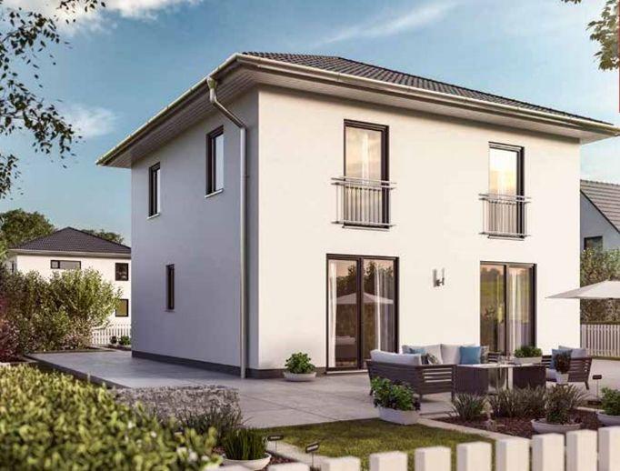 Neubau: Einfamilienhaus mit Grundstück und Vollunterkellerung in ruhiger Lage