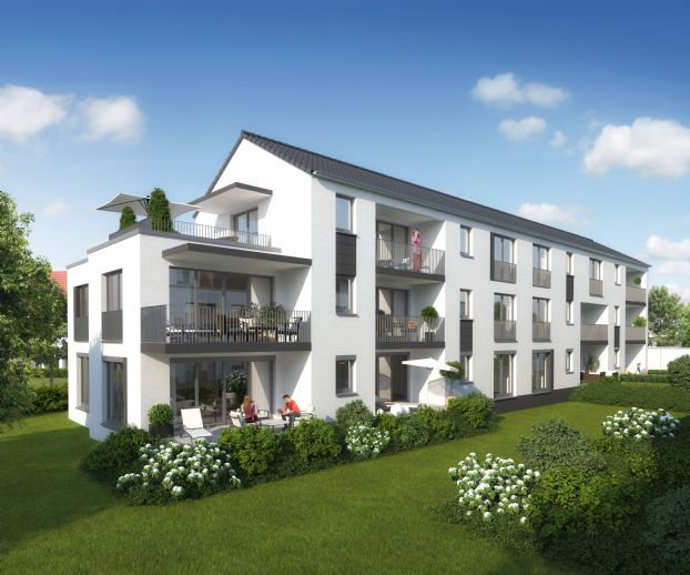 Wohnen mit Klasse in Laatzen-Rethen - schöne 2-Zimmer-Wohnung mit Loggia! Erstbezug!