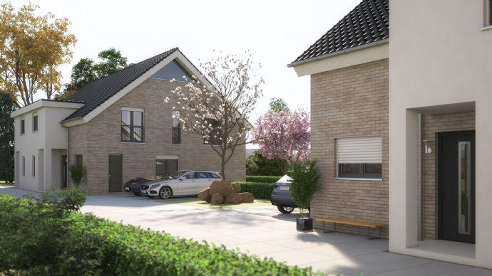 Wohn/Nutzfläche 240,47m² - Neubau Doppelhaushälfte mit traumhaftem Grundstück