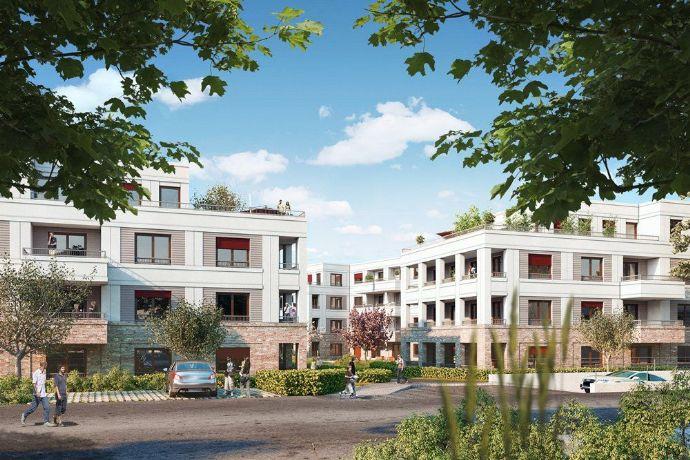 Neubau 4 Zimmer Wohnung in Dahlem mit großer Loggia und Balkon