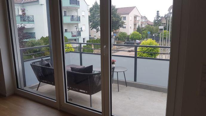 Freundliche 2-Zimmer Neubauwohnung mit Balkon