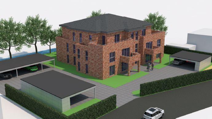 Hochwertige Penthouse-Wohnung im II. OG im Zentrum von Ostrhauderfehn zu vermieten