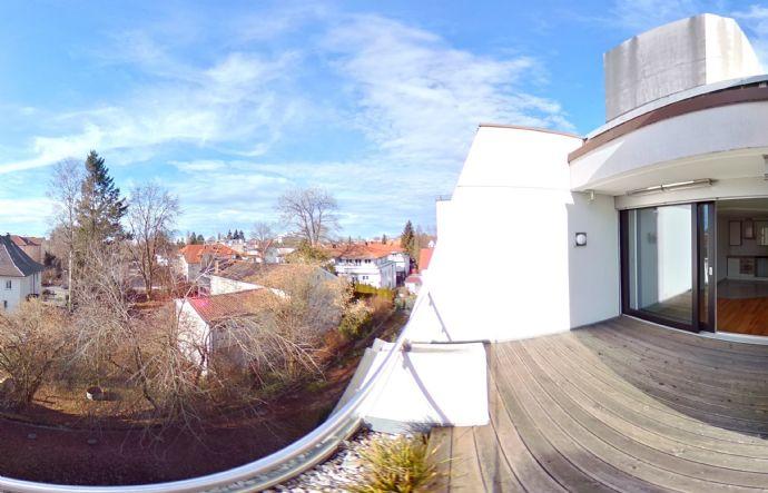 Exklusive 4-5-Zimmer-Dachterrassen-Wohnung in Memmingen