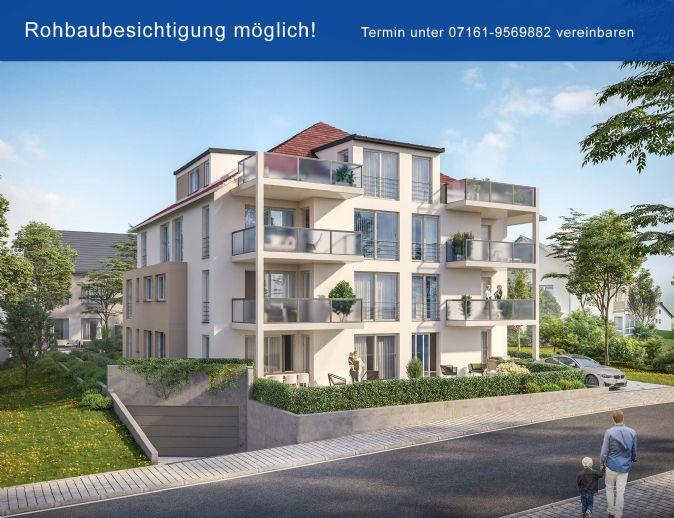 Schlüsselfertig! Herrliche 4-Zimmer-Wohnung mit riesigem Garten und sonniger Terrasse. Planbar als 3- oder 4-Zimmer-Wohnung