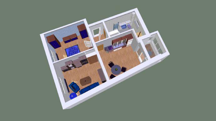 Schöne 2 Raumwohnung mit kleinen Balkon