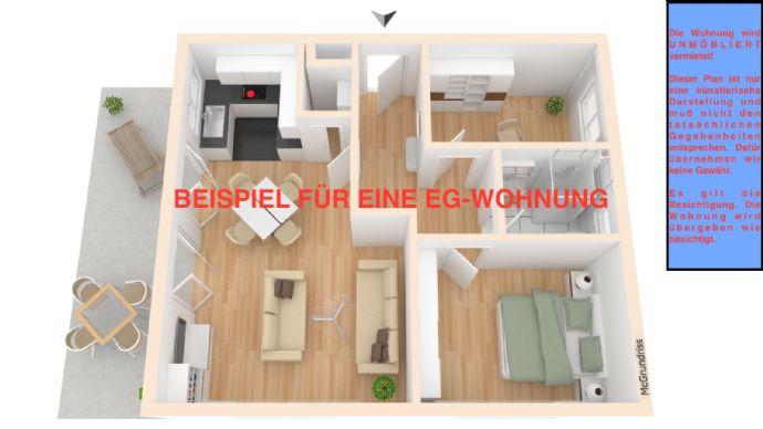 Wohnen am Elbdeich! Moderne 3 Zimmerwohnung in Kirchwerder