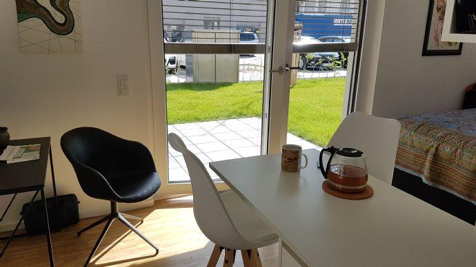 1-Zimmer-Wohnung mit Garten in Mannheim zu vermieten