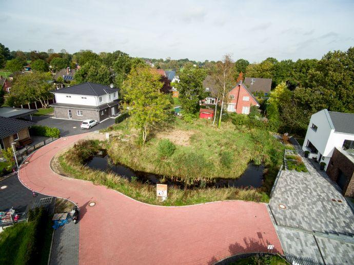 Tolles Grundstück in ruhiger Lage mit eigenem Teich...!