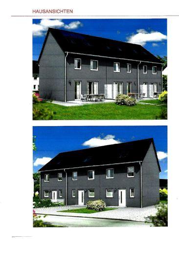Neu zu errichtendes Reihenendhaus, an der Stadgrenze von HGW, zu verkaufen