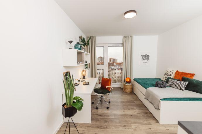 Moderne Apartments für Studenten & Azubis - Hainbase, Hannover | Quadratisch. Praktisch. Cool.