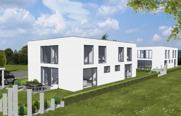 10 topmoderne Doppelhaushälften mit Dachterrasse und Grundstück in Illertissen