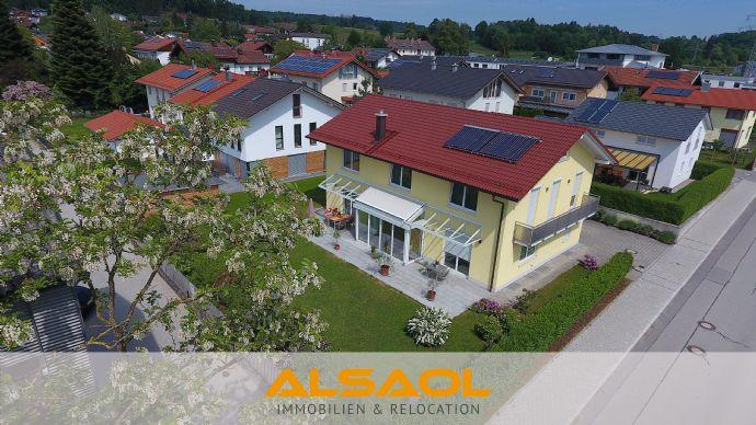 ALSAOL Immobilien:freistehendes Einfamilienhaus mit ca. 260 m² Wohnfläche und Luxus-Ausstattung!