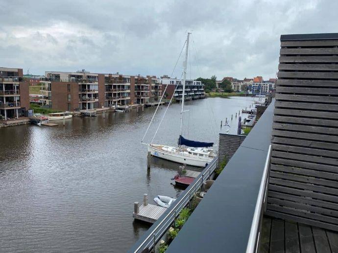 Schöner kann man nicht wohnen - Penthouse mit Blick aufs Wasser