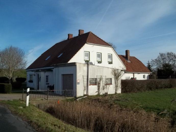 Historisches Haus - Rechte Doppelhaushälfte - Tettensersiel am Deich