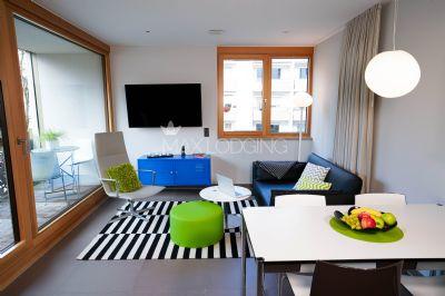 2 Zimmer Apartment möbliert direkt in Ubahn Nähe und am Westpark