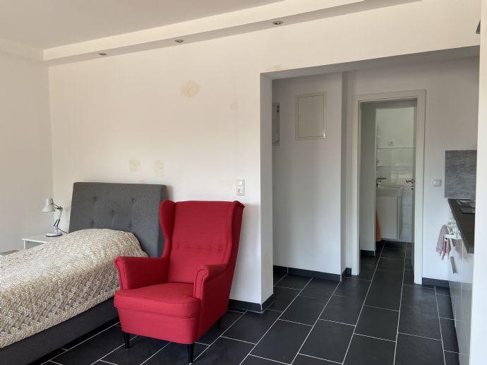 Wohnen auf Zeit: Helles 1-Zimmer Apartment mit Balkon ca. 32 qm in Marl zu vermieten!