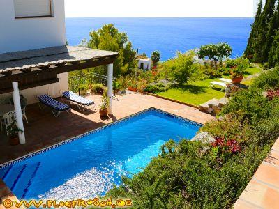 Villa Tropical für 8 bis 10 Personen *** Großer Privatpool *** Panorama-Meerblick *** Strand 600 m