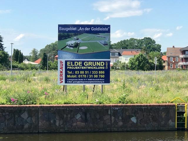 -RESERVIERT- Werden Sie neuer Nachbar - Ruhig gelegenes Baugrundstück (7) Nahe der Müritz-Elde-Wasserstraße in Grabow (Meckl.)