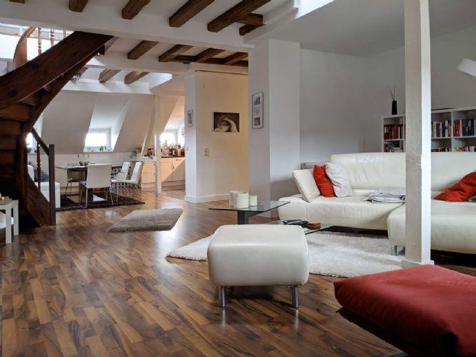 Traum-Maisonette-Wohnung mit Weitblick in bester Lage