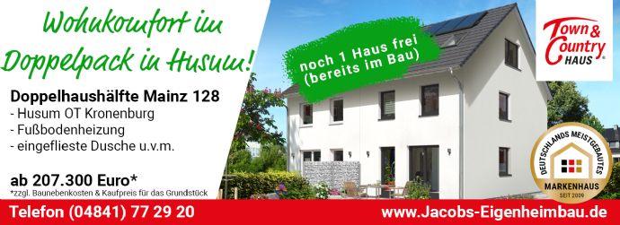 Neubau-Doppelhaushälfte in Husum OT Kronenburg