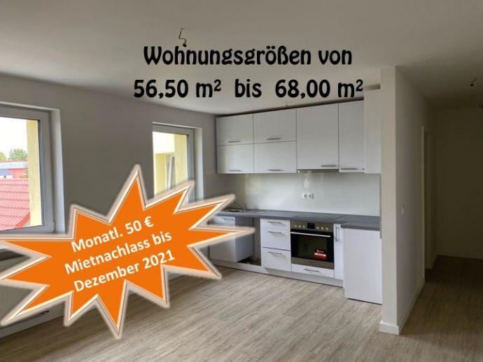 TOP! Vollständig renovierte Wohnung mit drei Zimmern und Einbauküche in Anhalt-Bitterfeld (Kreis)