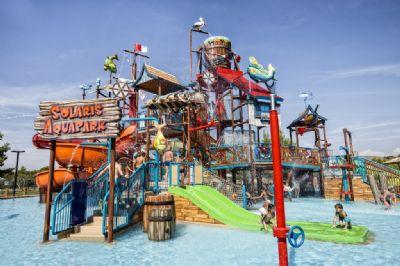 preiswerte familienfreundliche Unterkunft direkt am Meer - Ferienpark Solaris Beach Resort - Mobilehome Happy Premium (1533)