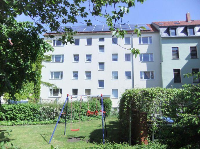 Bezugsfertig sanierte 2-Raum-Wohnung im Stadtzentrum