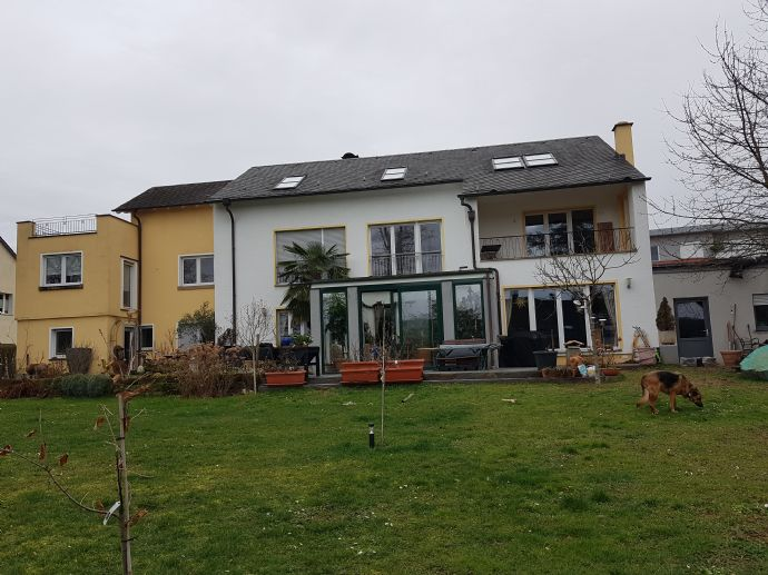 schöne helle DG-Wohnung mit großer Dachterrasse und Blick über Trier