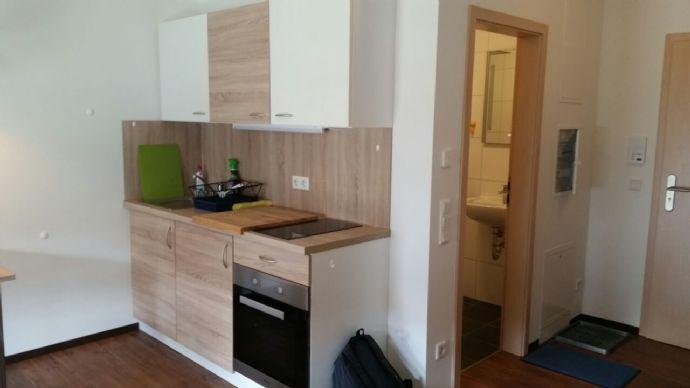 1-Zimmmer-Apartment, vollmöbliert